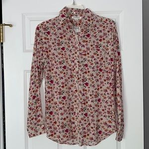 beachlunchlounge Floral Button Down Blouse